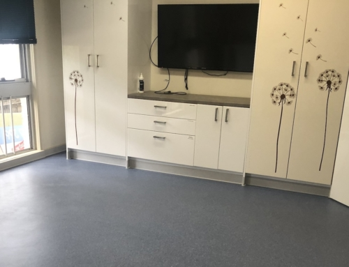 Flooring maker beats COVID-19 pop-up clinic challenge
