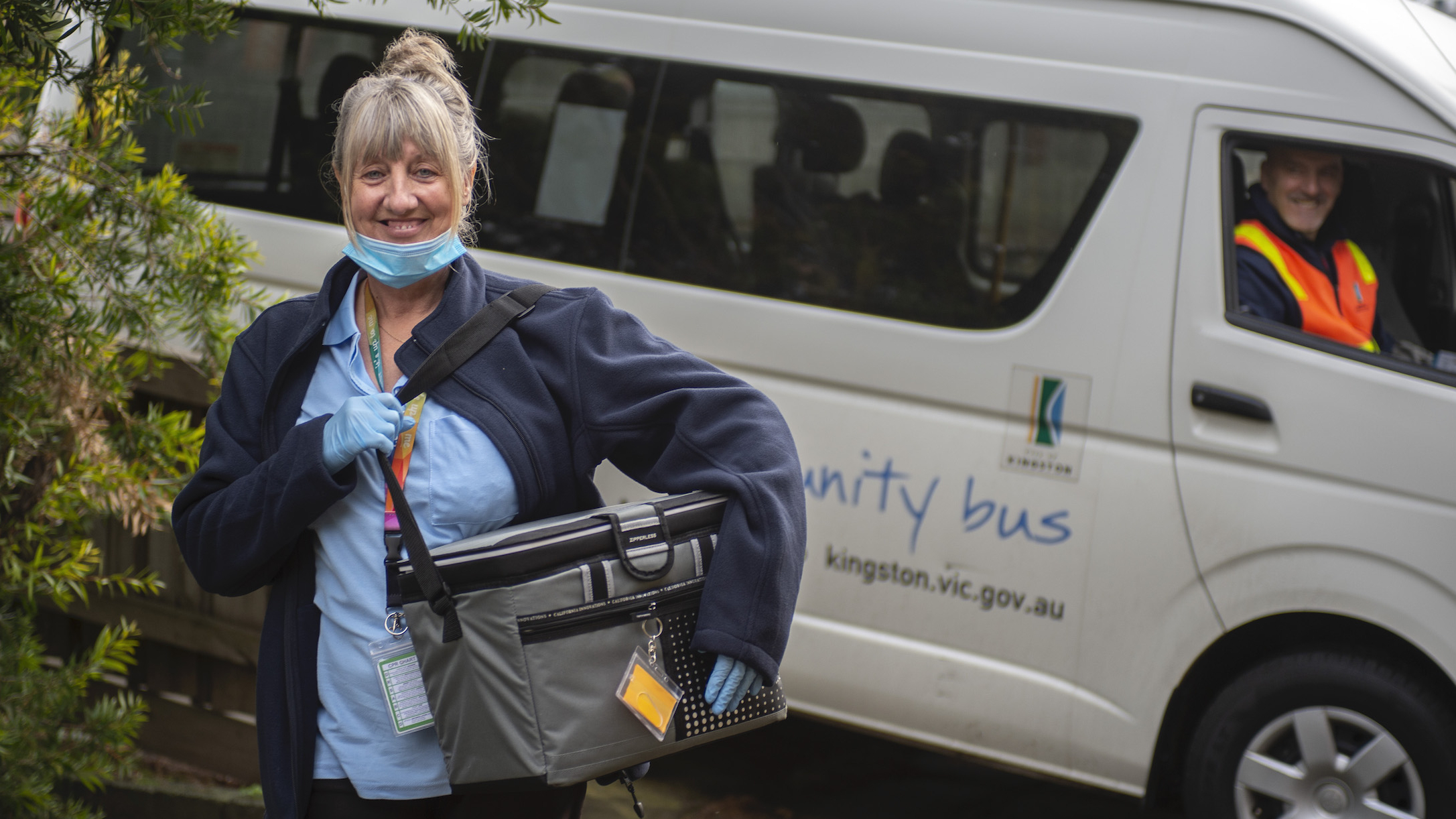 City of Kingston AccessCare team delivers means using the community bus
